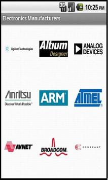Electronics Manufacturers poster