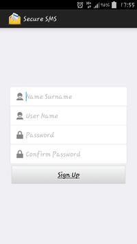 Secure SMS apk screenshot