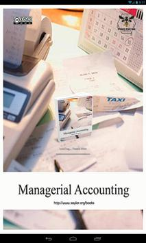 Managerial Accounting poster