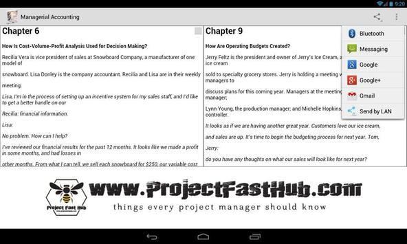 Managerial Accounting apk screenshot