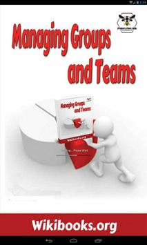 Managing Groups and Teams poster