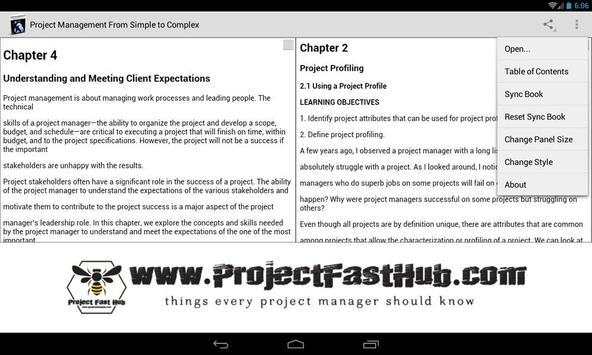 Project Management Simple apk screenshot