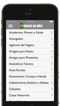 Brasil na Mão Guia comercial apk screenshot