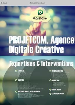 Projetcom apk screenshot
