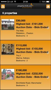 Property Bids apk screenshot