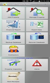 Rental Property Manager Lite apk screenshot