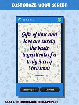 Christmas Quotes apk screenshot