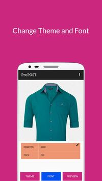 ProPOST - Write below picture apk screenshot