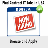 USA IT Contract Jobs Apply icon