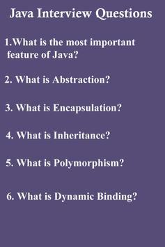 45 Java Interview Questions apk screenshot
