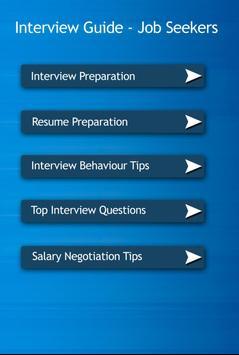 Interview Guide Job Seekers apk screenshot