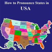 Pronounce States in USA Audio icon