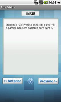 Provérbios e Ditados Populares apk screenshot