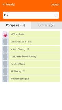 PWF Contacts apk screenshot