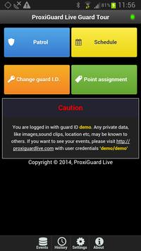 Proxiguard Live Guard Tour apk screenshot