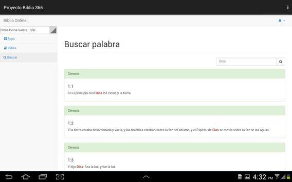 Proyecto biblia 365 apk screenshot