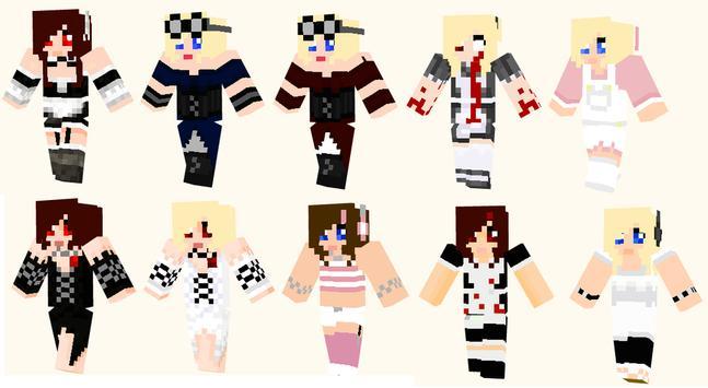 Skin Ideas MCPE MODS apk screenshot
