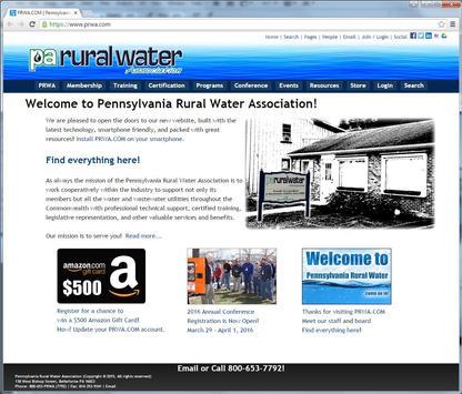 Pennsylvania Rural Water poster