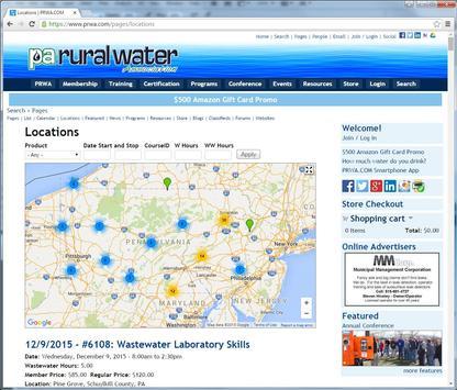 Pennsylvania Rural Water apk screenshot