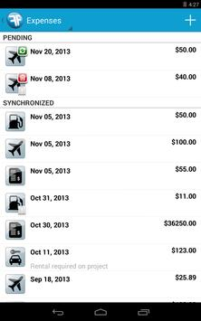 FinancialForce Expenses apk screenshot