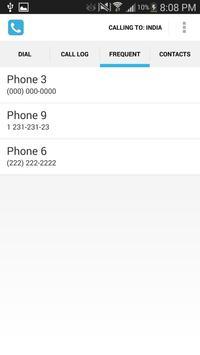 Dial Once apk screenshot