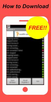 Free Psiphon Pro Guide poster