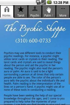 The Psychic Shoppe apk screenshot