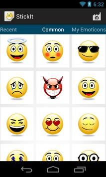 StickIt Emoticons poster
