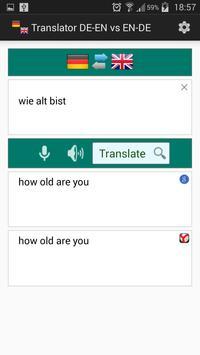 English German Translator apk screenshot