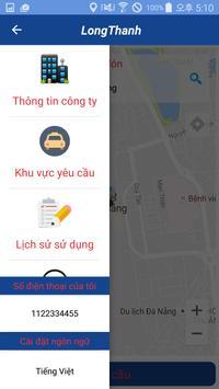 Taxi Long Thanh apk screenshot