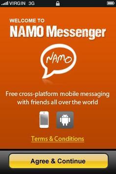 NAMO Messenger poster