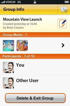 NAMO Messenger apk screenshot