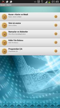 Kuran-ı Kerim ve Türkçe Meali apk screenshot