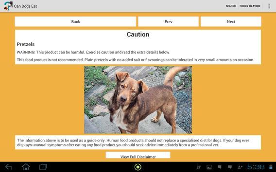 Can Dogs Eat apk screenshot