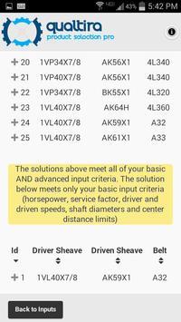 V-Belt Drive Designer apk screenshot
