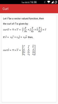 Calculus Formula apk screenshot