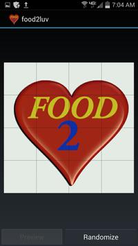 Food2LUV apk screenshot
