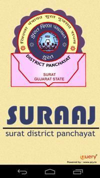 Surat District Panchayat poster