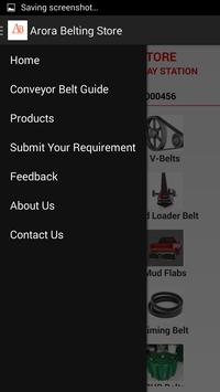 Arora Belting Store apk screenshot