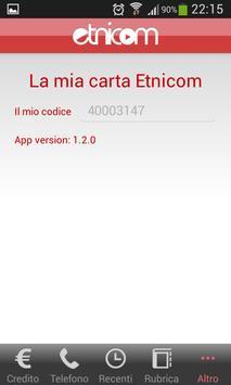 ETNICOM – chiamate basso costo apk screenshot