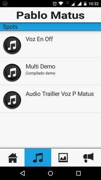 Pablo Matus Locutor apk screenshot