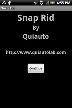 Snap Rid apk screenshot