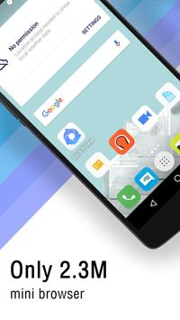 Quick browser-Fast and Secure apk screenshot
