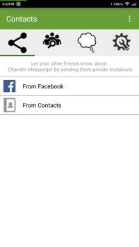 Chandni Messenger apk screenshot
