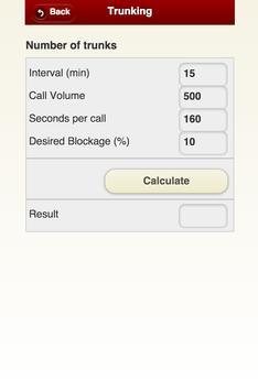 Call Center Calc apk screenshot
