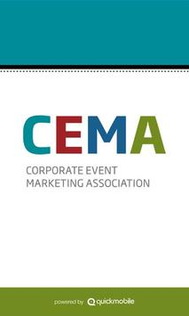 CEMA Events poster