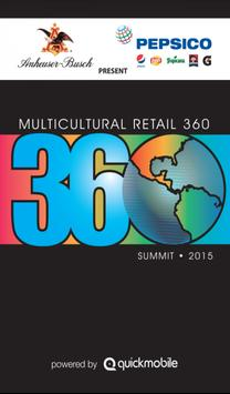 Multicultural Retail360 Summit poster