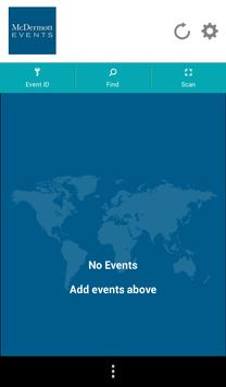 McDermott Events apk screenshot