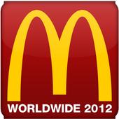 McDonald's WorldWide 2012 icon