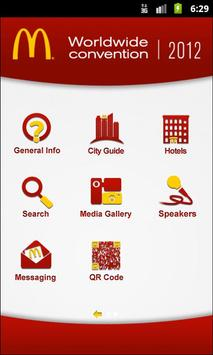 McDonald's WorldWide 2012 apk screenshot